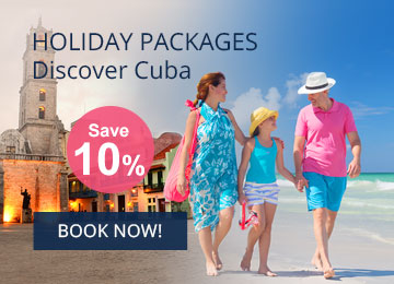 Cuba Vacation Packages - Hotel + Transfer + Flight Travel Package in Cuba