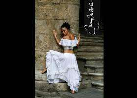 Cuban fashion designer visit
