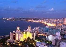 Havana sunset from the Focsa building