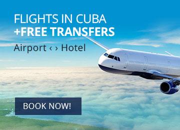 Domestic flights in Cuba