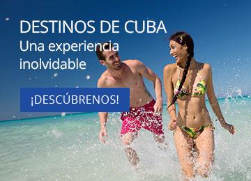 Destinos Turísticos en Cuba