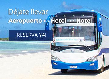 Traslados privados y compartidos en Cuba a hoteles y aeropuertos