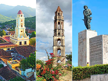 Tours in Cuba - Visit Three Cities