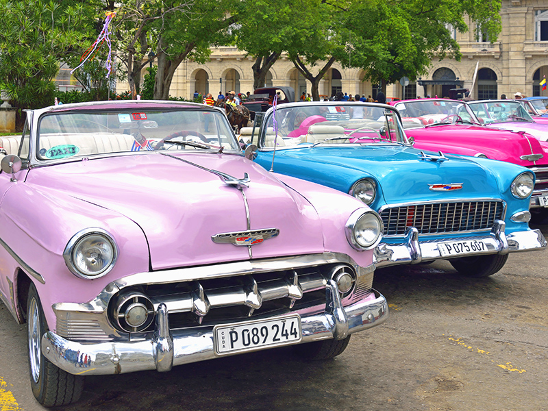 Tours in Cuba - Discovering Havana in vintage cars