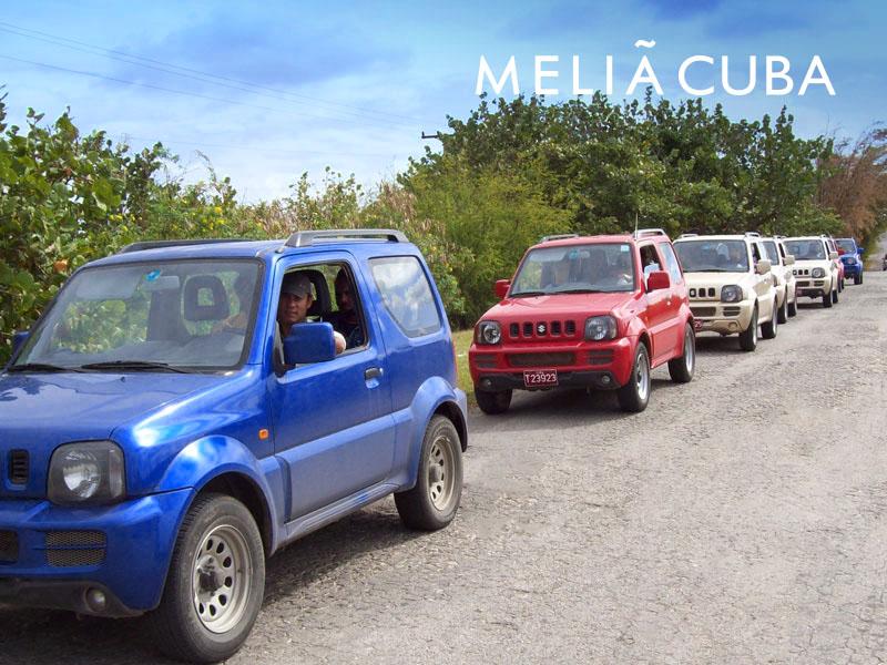 Excursiones en Cuba - Jeep Safari Cayo Guillermo