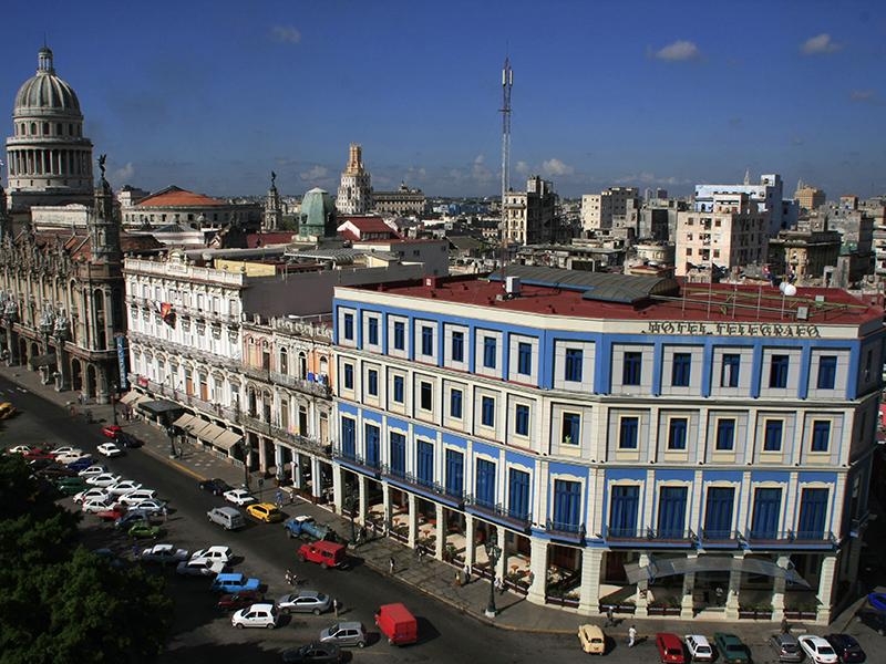 Resultado de imagen de hotel telegrafo la habana