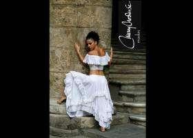 Cuban fashion designer visit