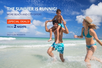 Offer for vacation in Cuba - THE SUMMER IS RUNNIG!