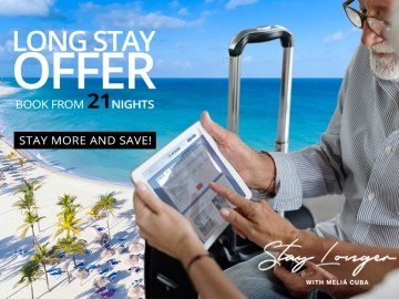 Long Stay Offer - Offers and discounts for vacations in Cuba