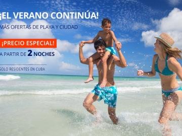 ¡EL VERANO CONTINÚA! - Ofertas y descuentos para vacaciones en Cuba