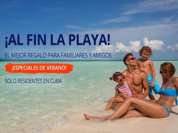 ¡Al fin la playa! - Ofertas y descuentos para vacaciones en Cuba
