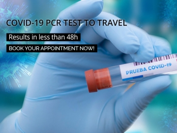 COVID-19 PCR test to travel - Offers and discounts for vacations in Cuba