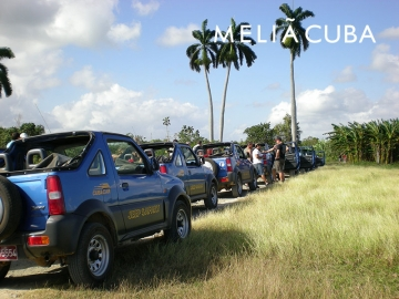 Tours in Cuba - Jeep Safari Cayo Coco NEW!