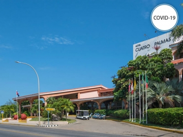 Cuarentena COVID-19 - Hotel StarFish Cuatro Palmas