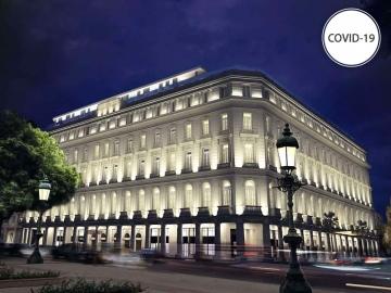 COVID-19 quarantine - Hotel Grand Manzana Kempinski